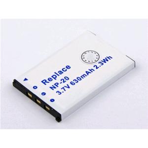 Batteria fotocamera casio np 20 34