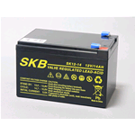SKB SK12-14, Batteria AGM ermetica ricaricabile al piombo 12v 14Ah. Term. Faston 6,3mm.