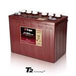 J150+ Trojan, Batteria Trojan J150+ (J-150+) Deep Cycle Battery, 12V 150Ah. (20hr.) Term. 1, ELPT