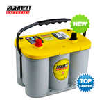 YT S 4.2 (8012-254) OPTIMA, Batteria YELLOWTOP 12V 55A, 765A, Dimensioni: 254x175x200 mm.