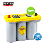 YT S 5.5 (8051-187) OPTIMA, Batteria YELLOWTOP 12V 75A, 975A, Dimensioni: 325x165xh.238 mm.