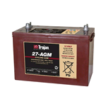 27-AGM Trojan, Batteria Trojan  AGM Deep Cycle 12 Volt 89Ah (20hr.)