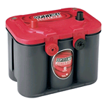 RT U 4.2 (8004-250), Batteria Optima REDTOP AGM 12V 50Ah. Term. SAE