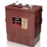 J305G-AC Trojan, Batteria Trojan J305G-AC Deep Cycle Battery, 6V 315Ah. (20hr.) Term. 7, UT