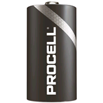PC1300-BOX100, Procell (by Duracell), Pila alcalina size D Torcia LR20, LR13 1,5V, Box da 100 pz. (sostituisce MN1300-IND-BOX100 Duracell Industrial)