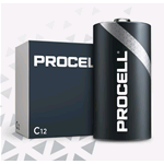 PC1400-BOX10, Procell (by Duracell), Pila alcalina size C Mezza Torcia LR14 1,5V Box 10 pz. (sostituisce MN1400-IND-BOX10 Duracell Industrial)