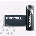PC1500-BOX10, Procell (by Duracell), Pila alcalina size AA Stilo LR6 1,5 Volt Box da 10 pz.  (sostituisce MN1500-IND-BOX10 Duracell Industrial)