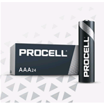 PC2400-BOX10, Procell (by Duracell), Pila alcalina size AAA Ministilo 1,5V LR03 Box 10 pz. (sostituisce Duracell Industrial MN2400-IND-BOX10)