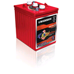 US 100 DIN, US Battery Deep Cycle Battery 6V 247Ah (20hr.), Flooded Lead Acid (FLA) non-sealed (compatibile Trojan TE35)