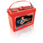 US 27 DC, US Battery Deep Cycle Battery 12V 105Ah (20hr.), Flooded Lead Acid (FLA) non-sealed (compatibile Trojan 27TMX)