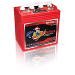 US 8 VGC XC2, US Battery Deep Cycle Battery 8V 170Ah (20hr.), Flooded Lead Acid (FLA) non-sealed (compatibile Trojan T-875)