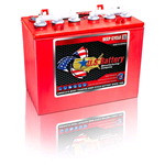 US12VRX-XC2 US Battery, Deep Cycle Battery 12V 155Ah. (20hr.) Flooded Lead Acid (FLA) non-sealed (compatibile Trojan T-1260+, T-1275+)