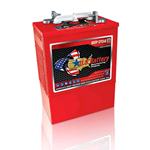 US L16HC XC2, US Battery Deep Cycle Battery 6V 420Ah (20hr.), Flooded Lead Acid (FLA) non-sealed (compatibile Trojan L16P-AC)